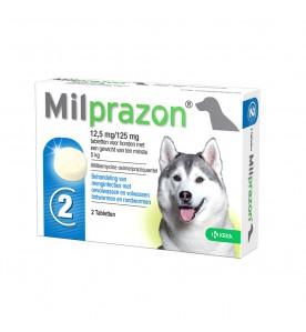 Milprazon Grote Hond - 12.5 mg / 125 mg 2 tab