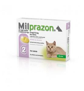 Milprazon Kleine Kat / Kitten - 4 mg / 10 mg 2 tab