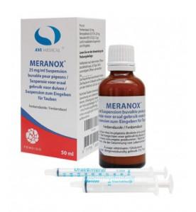 Meranox 25 mg/ml orale suspensie 50 ml