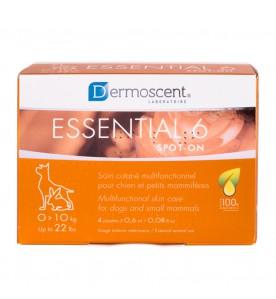 Dermoscent Essential 6 Spot-on - 4 pipetten - 0 t/m 10 kg