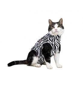 Medical Pet Shirt (Kat / Zebraprint)