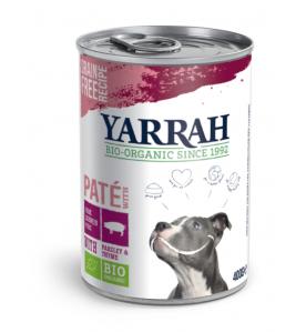 Yarrah Biologisch Hondenvoer Paté met Varkensvlees