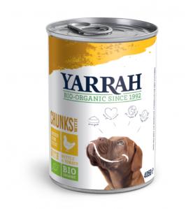 Yarrah Biologisch Hondenvoer met Chunks met Kip