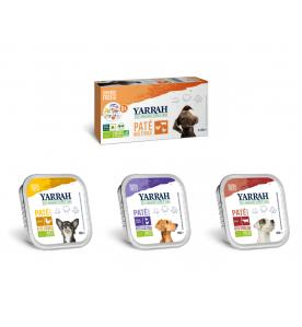 Yarrah Biologisch Hondenvoer Multi Pack - 6 x 150 gram