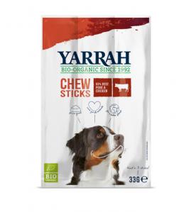 Yarrah Biologische Kauwstaafjes voor Honden - 25 x 33 gram