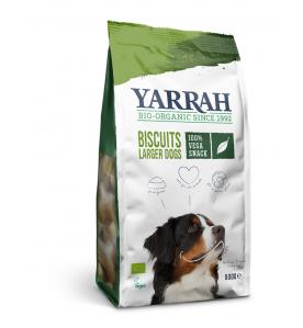 Yarrah Biologische Vega Hondenkoekjes voor Grotere Honden 500 gram