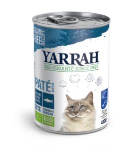Yarrah Biologisch Kattenvoer Paté met Vis - 12 x 400 gram