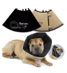 Comfy Cone (Hondenkraag) - Zwart