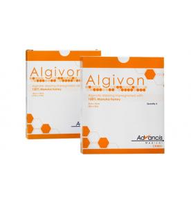 Algivon Manuka Alginaat Verband 10 X 10 Cm - 1 Stuk
