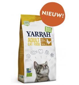 Yarrah Biologisch Adult Kattenvoer met Kip