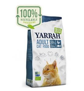 Yarrah Biologisch Adult Kattenvoer met Vis