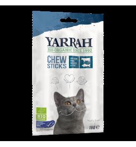 Yarrah Biologische Kauwstaafjes voor de Kat - 25 x 15 gram