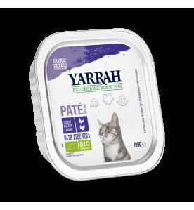 Yarrah Biologisch Kattenvoer Paté met Kip & Kalkoen - 16 x 100 gram