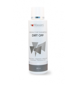 Maxani Dirt Off huid- en vachtshampoo - 200 ml