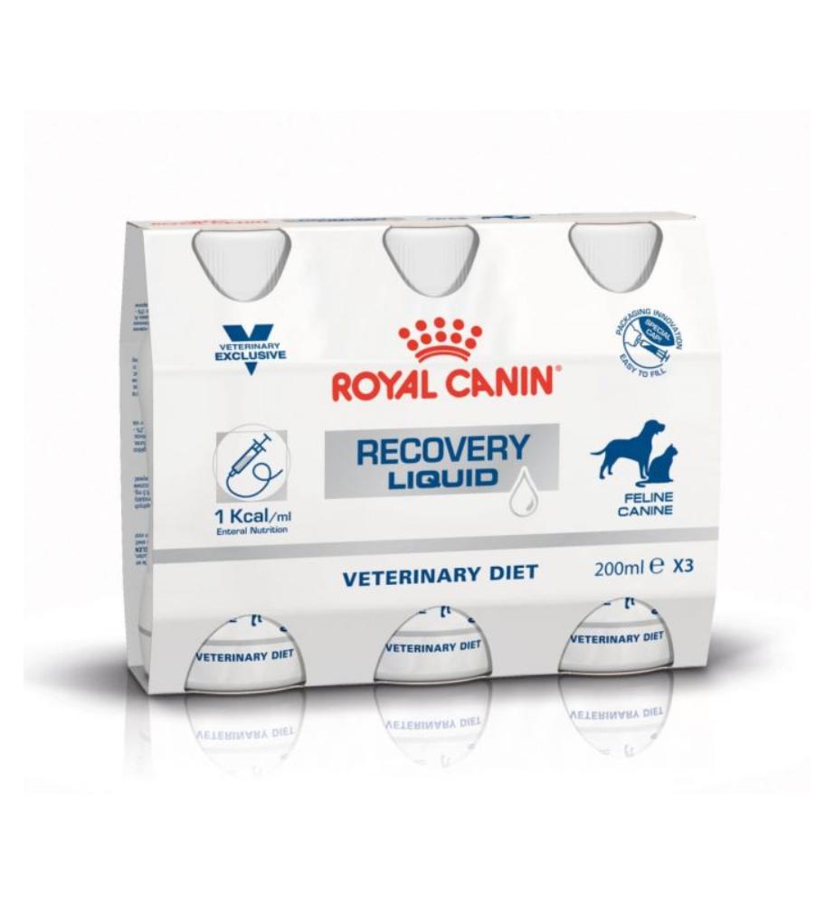 Royal Canin Recovery Liquid - 3 x 200 ml