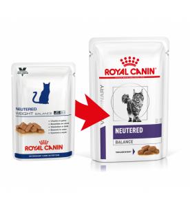Royal Canin Neutered Satiety Balance Portie - 12 x 100 gram