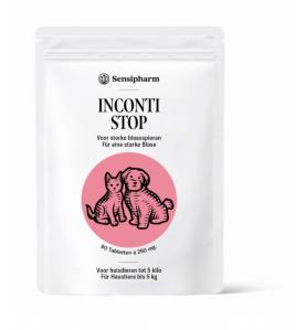 Sensipharm Inconti Stop 250 mg (Kleine huisdieren) - 90 tabletten