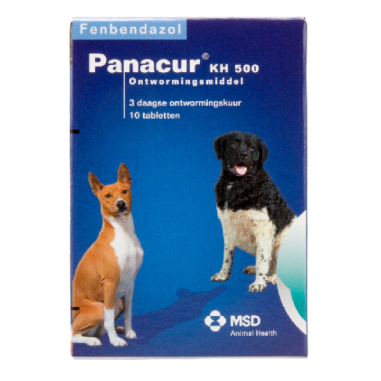 Panacur KH 500 500 mg - 10 tabletten