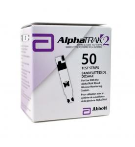 AlphaTRAK 2 Glucosestrips - 50 Strips