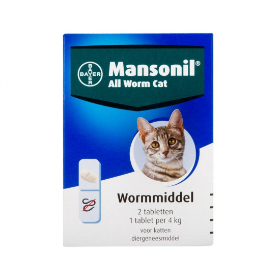 Mansonil All Worm Cat (4kg)