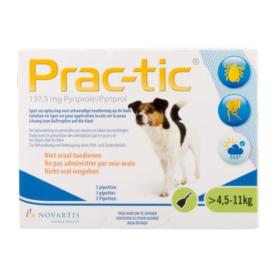 Prac-Tic spot-on 1.1 S (kleine honden) 4.5 t/m 11 kg