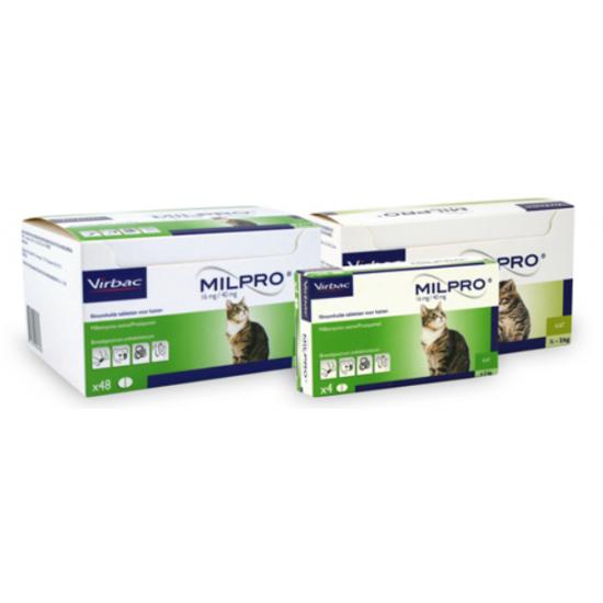Milpro Kitten / Kleine Kat - 24 tabletten