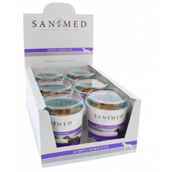Sanimed Skin / Sensitive Treats 6 x 175 gram