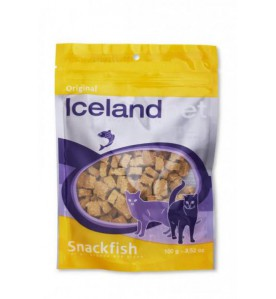 Iceland Pet Cat Original Snackfish 100 gram