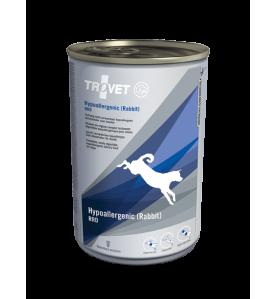 Trovet Hypoallergenic Rabbit RRD Blik 400 gram