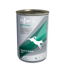 Trovet Weight & Diabetic WRD Blik 6 x 400 gram